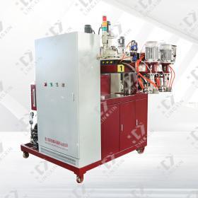 Double head polyurethane low pressure foaming machine
