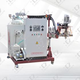 Medium temperature elastomer pouring machine