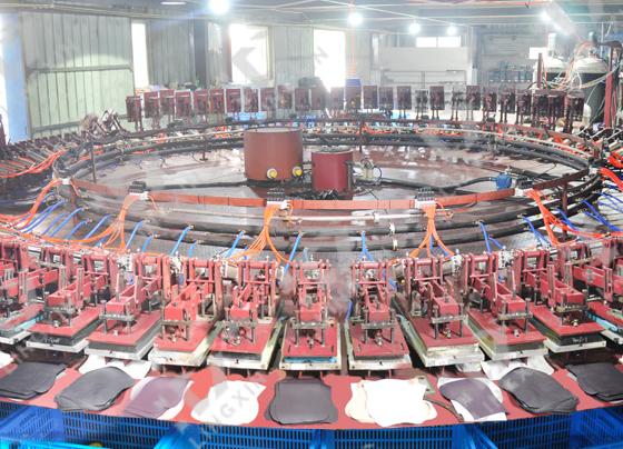 全自动鞋机圆盘生产线